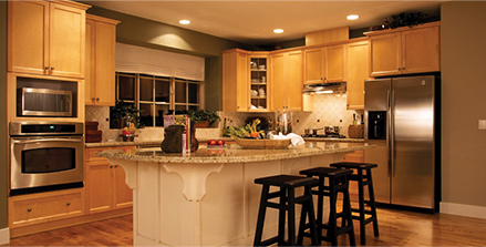 Clean, remodeled kitchen